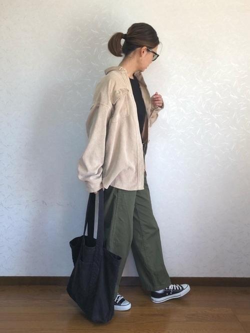 【2019年トレンド】ベイカーワイドパンツ着こなしコーデ特集♡の11枚目の画像