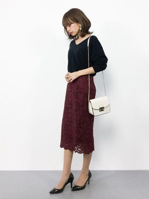 【春夏秋冬】タイトスカート(ミニ・ロング)の着回しコーデ術♡の25枚目の画像
