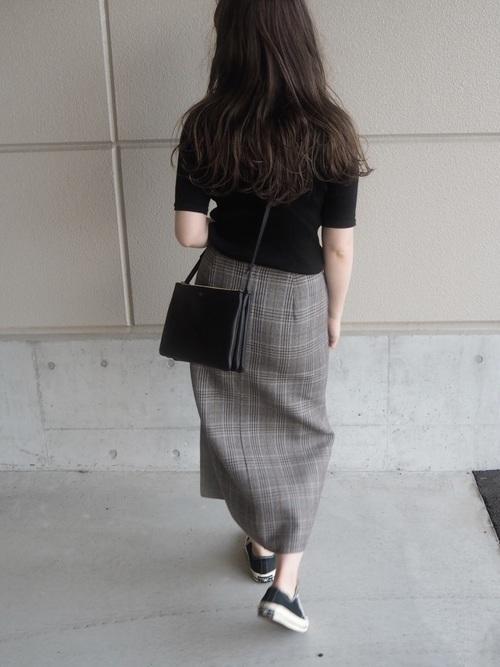 【コーデ26選】チェックタイトスカートで以前よりもかわいい自分♡の10枚目の画像