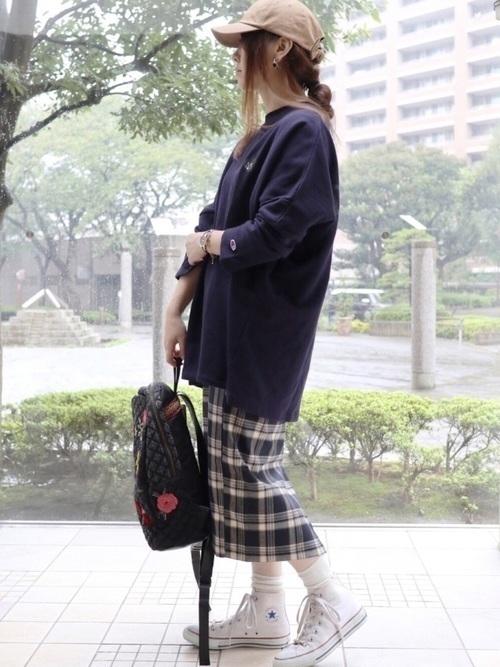 【コーデ26選】チェックタイトスカートで以前よりもかわいい自分♡の20枚目の画像