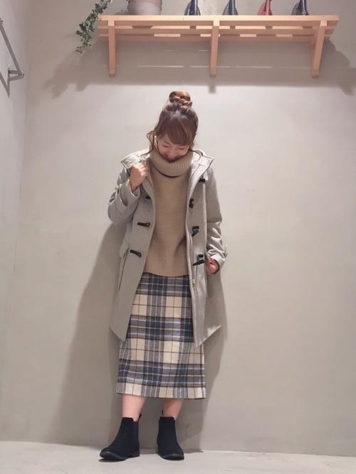 【コーデ26選】チェックタイトスカートで以前よりもかわいい自分♡の28枚目の画像