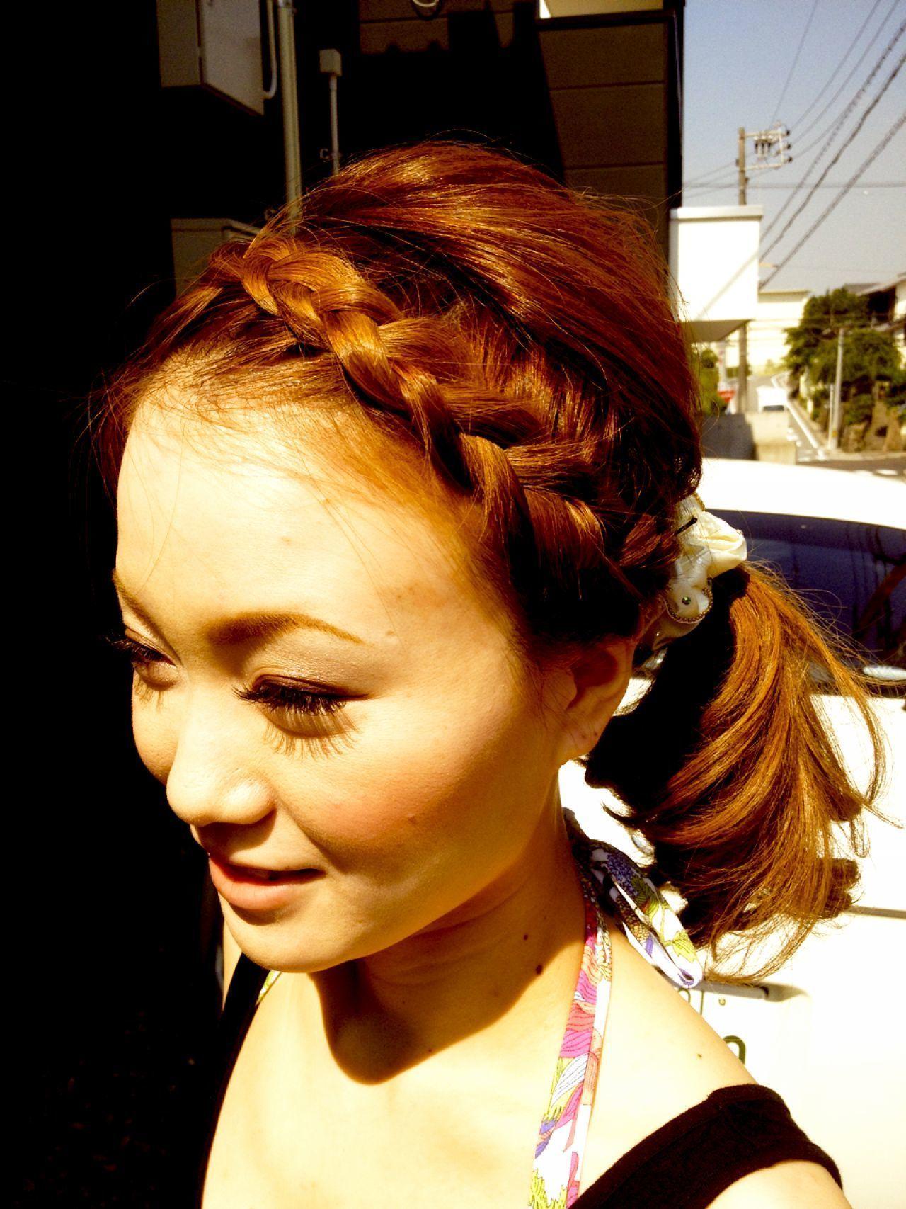 夏のヘアアレンジ特集。おしゃれで透明感ある涼しげスタイルの12枚目の画像