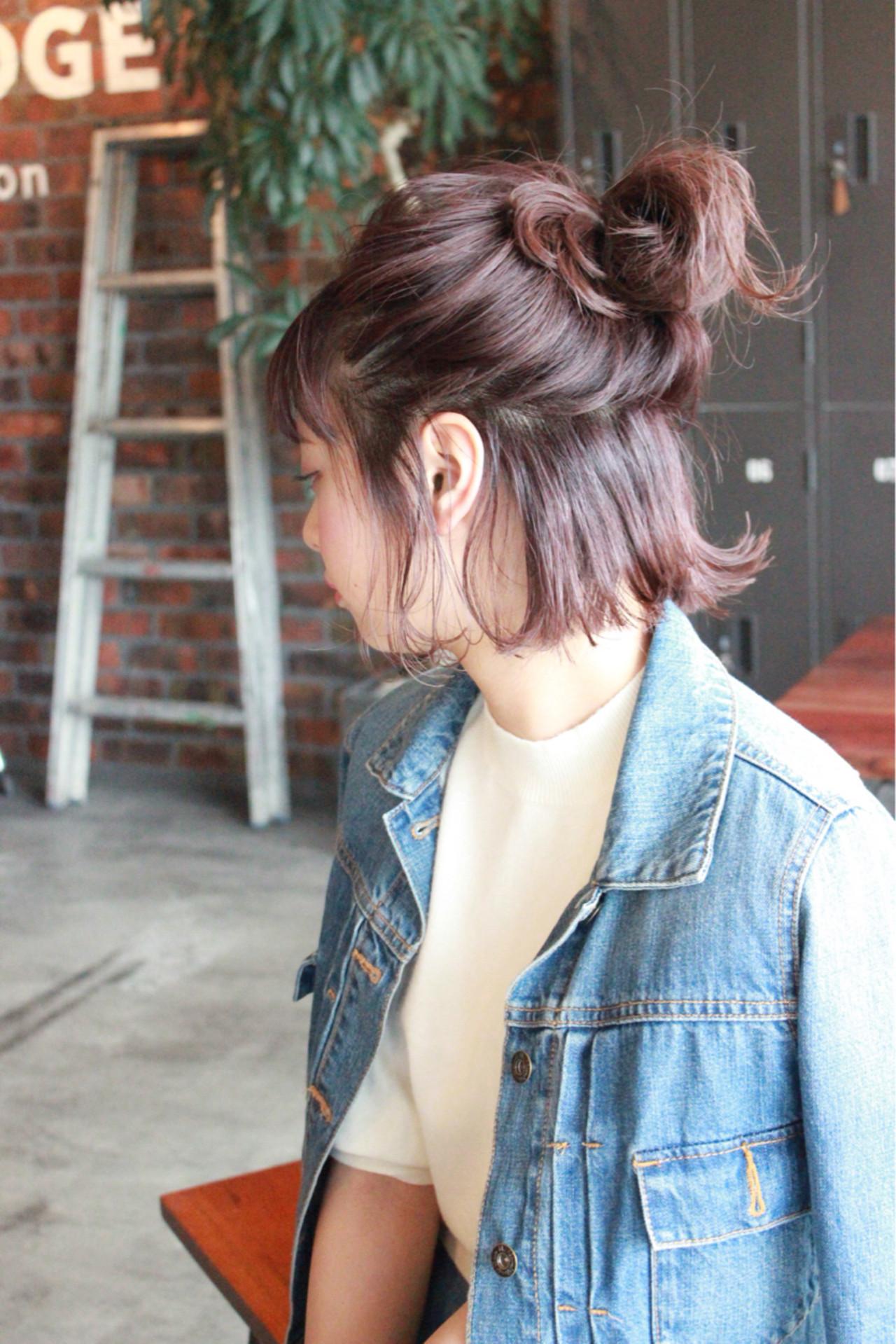 おしゃれなヘアアレンジショート編。もっとショートを楽しもうの14枚目の画像