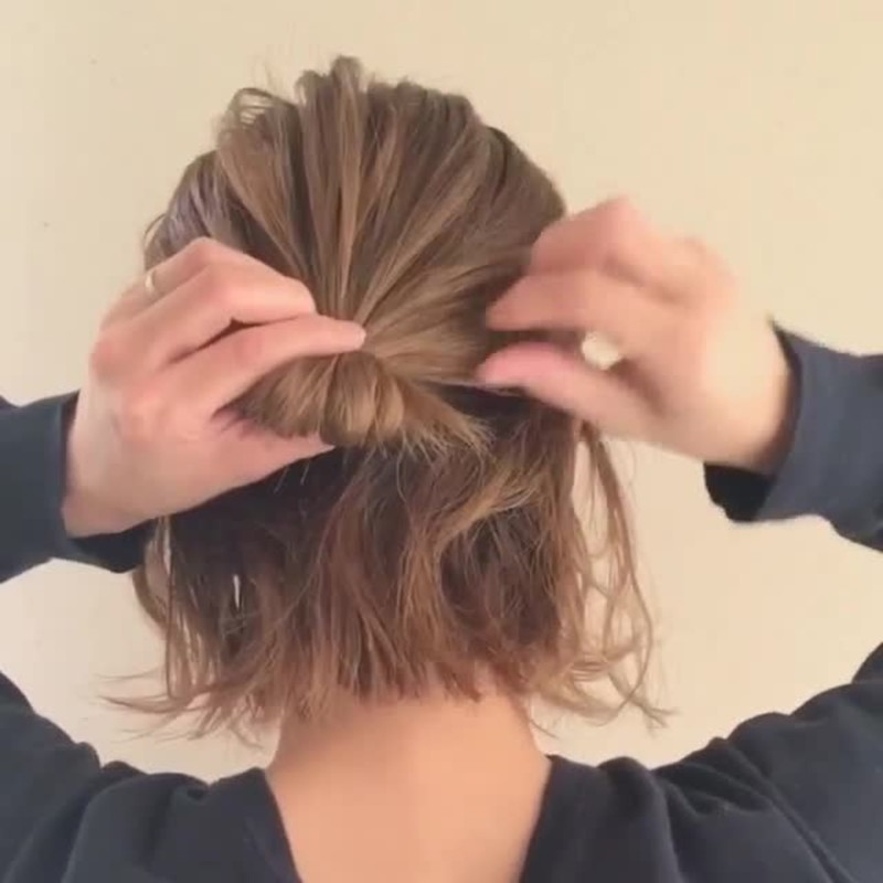 簡単 体育 祭 髪型