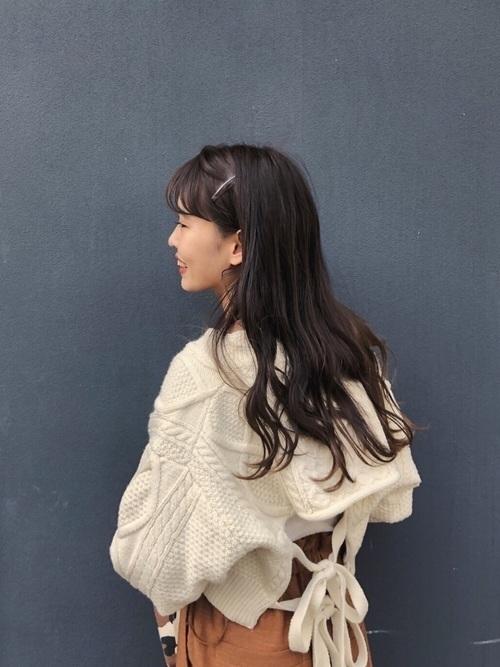 大注目!秋冬の【アランニット】トレンドコーデ20選の22枚目の画像