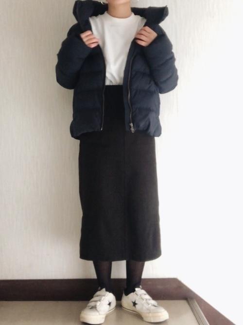 機能性抜群ダウンジャケットでおしゃれさん♡ブランド~コーデを紹介の2枚目の画像