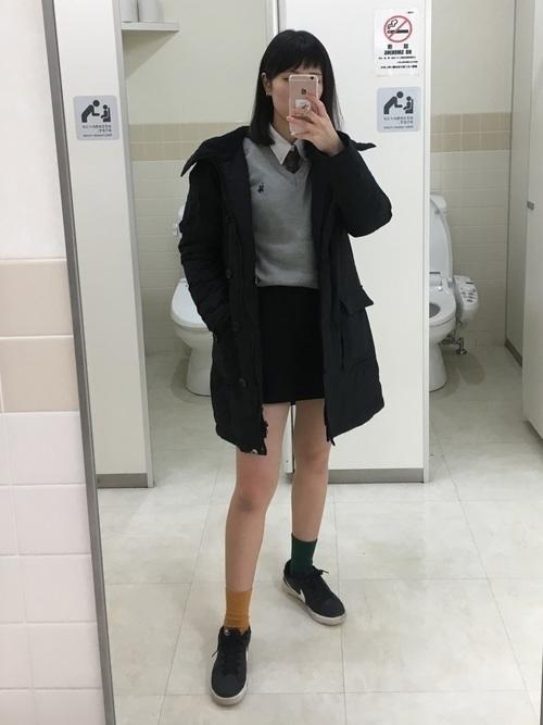 機能性抜群ダウンジャケットでおしゃれさん♡ブランド~コーデを紹介の4枚目の画像