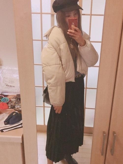 機能性抜群ダウンジャケットでおしゃれさん♡ブランド~コーデを紹介の20枚目の画像