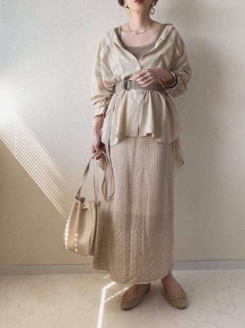 ざっくり編み目がかわいい!【かぎ編み】アイテムでモテコーデ♡の8枚目の画像