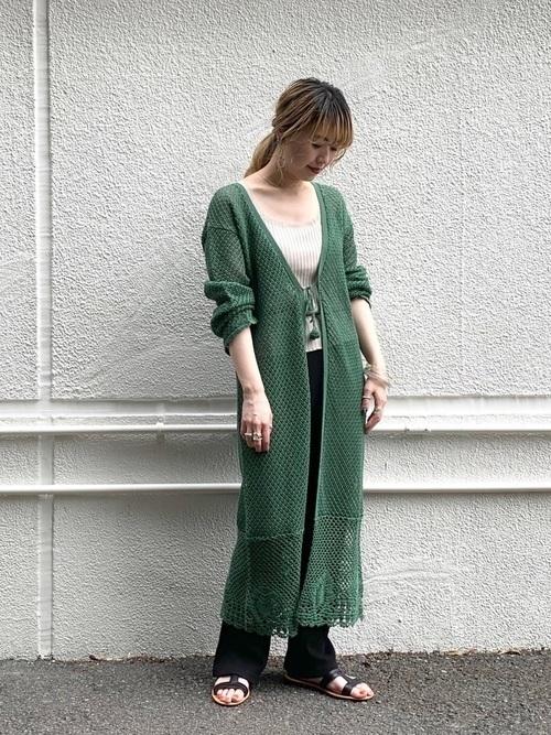 ざっくり編み目がかわいい!【かぎ編み】アイテムでモテコーデ♡の7枚目の画像