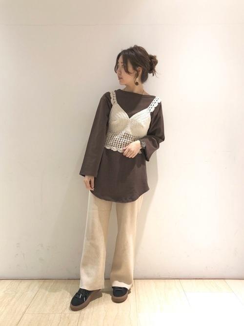 ざっくり編み目がかわいい!【かぎ編み】アイテムでモテコーデ♡の12枚目の画像