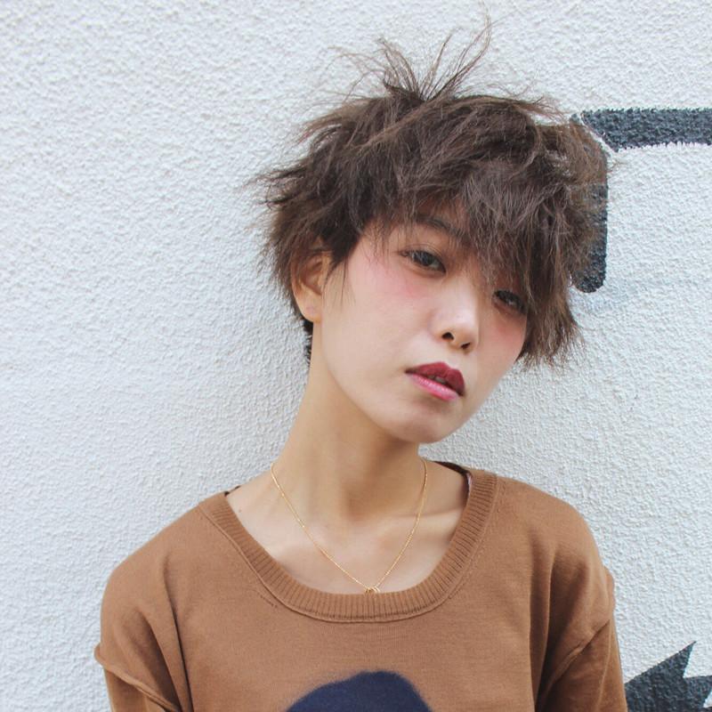 パーマ メンズ 短髪 ツイスト