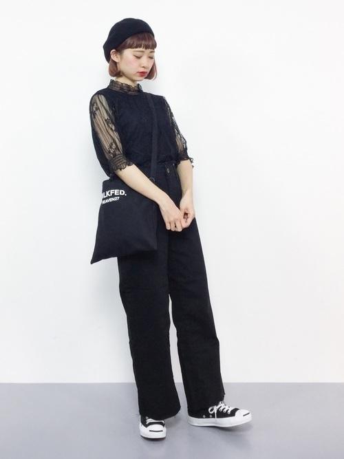 着回し力ばつぐん!【黒パンツ】のオトナレディースコーデ60選♡の26枚目の画像