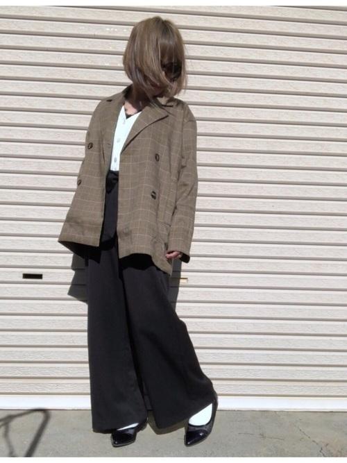 着回し力ばつぐん!【黒パンツ】のオトナレディースコーデ60選♡の38枚目の画像