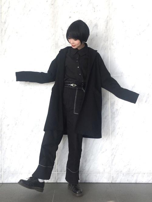 着回し力ばつぐん!【黒パンツ】のオトナレディースコーデ60選♡の41枚目の画像