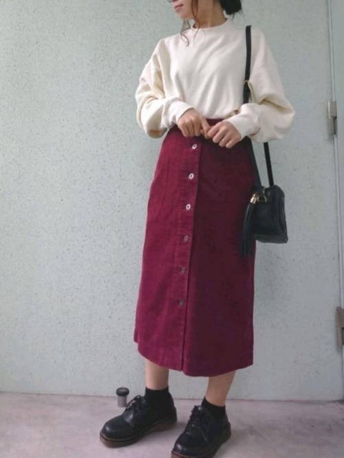大人女性におすすめ♡着回ししやすいユニクロタイトスカートコーデの10枚目の画像