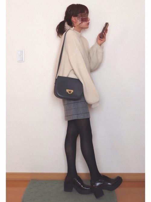 大人女性におすすめ♡着回ししやすいユニクロタイトスカートコーデの13枚目の画像