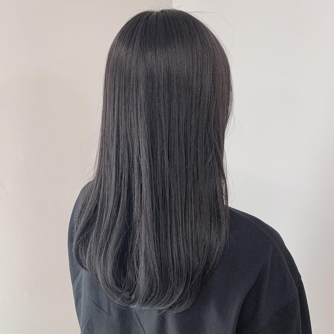 次のヘアカラーは、ブルーブラックへシフト!透明感を手に入れよう♡の11枚目の画像