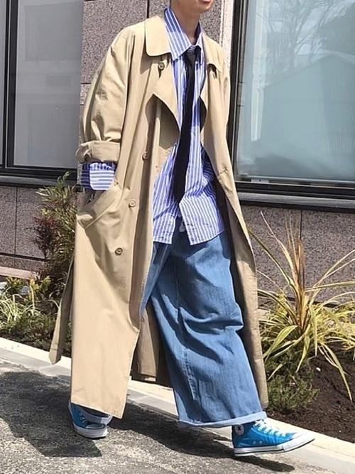 メンズは「トレンチコート」で上品な大人に!カラー別コーデ20選。