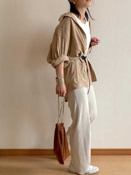 着るだけで今っぽいってウワサ♡ニットパンツのおすすめコーデ12選の2枚目の画像