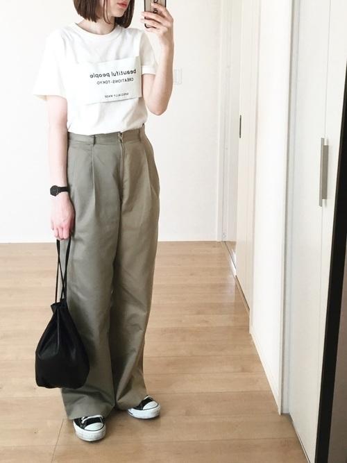 《2019》おすすめレディース白Tシャツブランド&コーデ19選♡