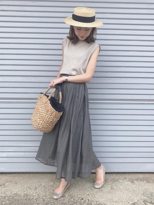 【2019年】夏目前♡人気のかごバッグでいつものコーデを格上げの4枚目の画像