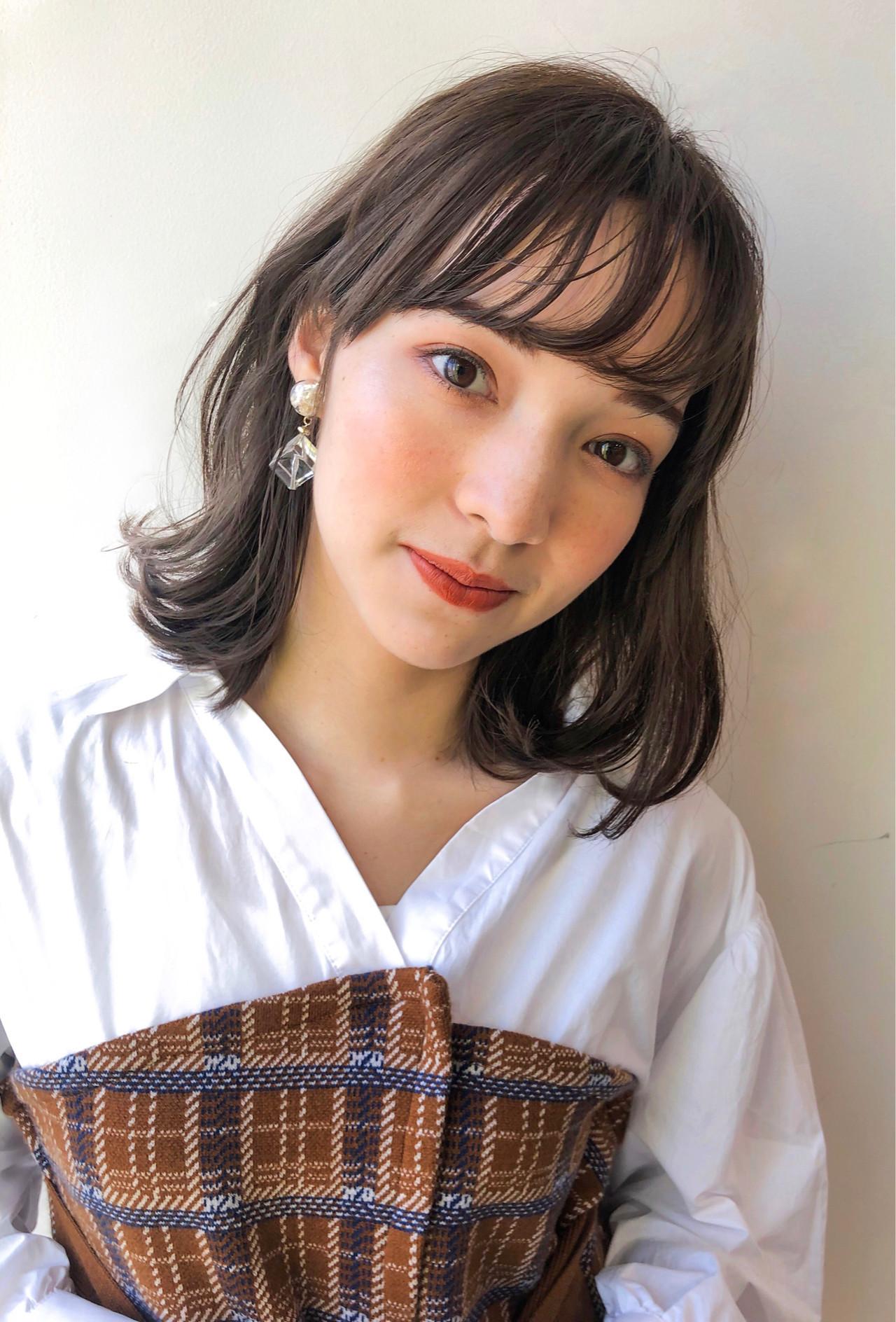 おしゃれな前髪2019年版。顔タイプ別に似合うトレンド前髪を紹介の3枚目の画像