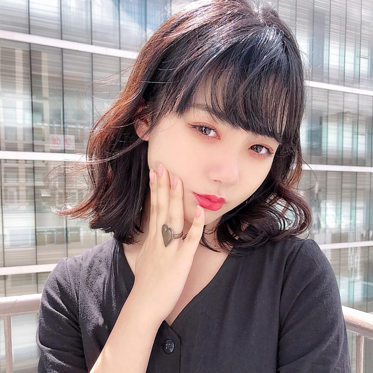 おしゃれな前髪2019年版。顔タイプ別に似合うトレンド前髪を紹介の6枚目の画像