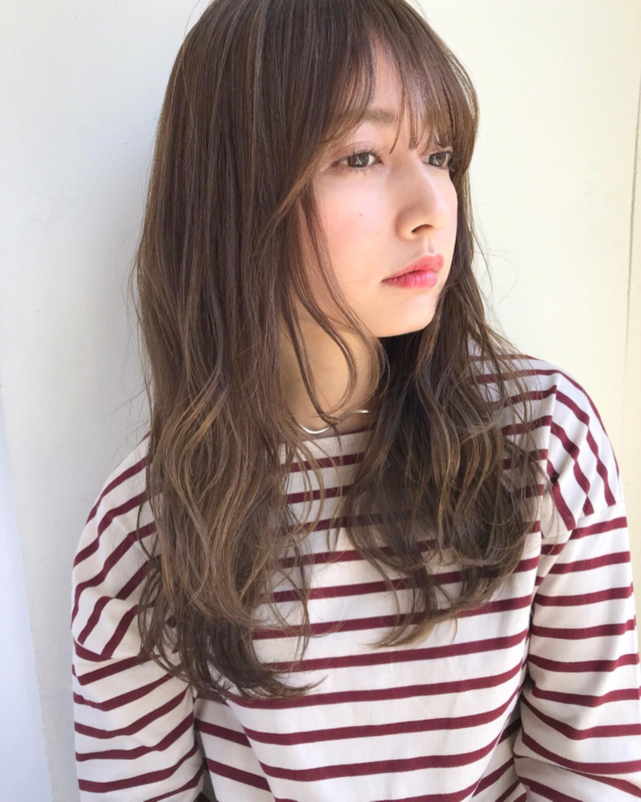 おしゃれな前髪2019年版。顔タイプ別に似合うトレンド前髪を紹介の8枚目の画像