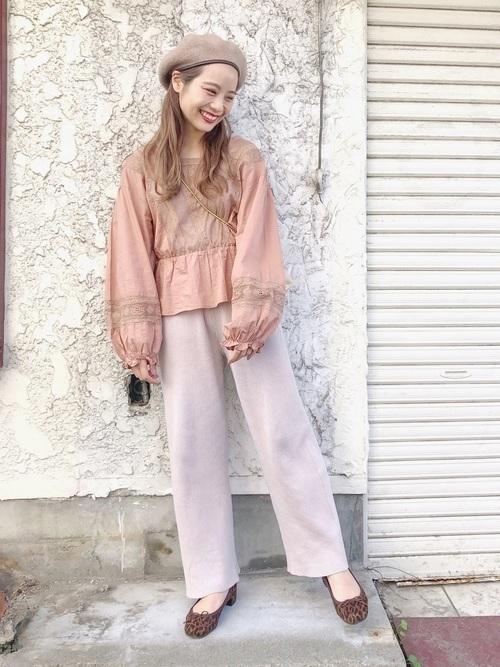 着るだけで今っぽいってウワサ♡ニットパンツのおすすめコーデ12選の10枚目の画像