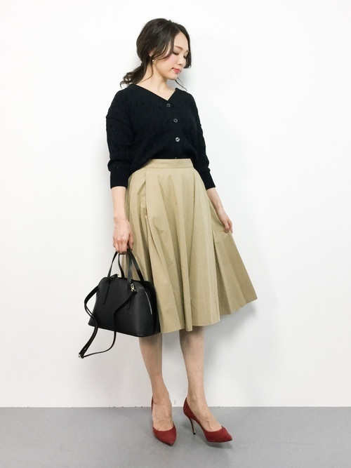 人気の【サーキュラースカート】でワンランク上の大人な女性に♡の5枚目の画像