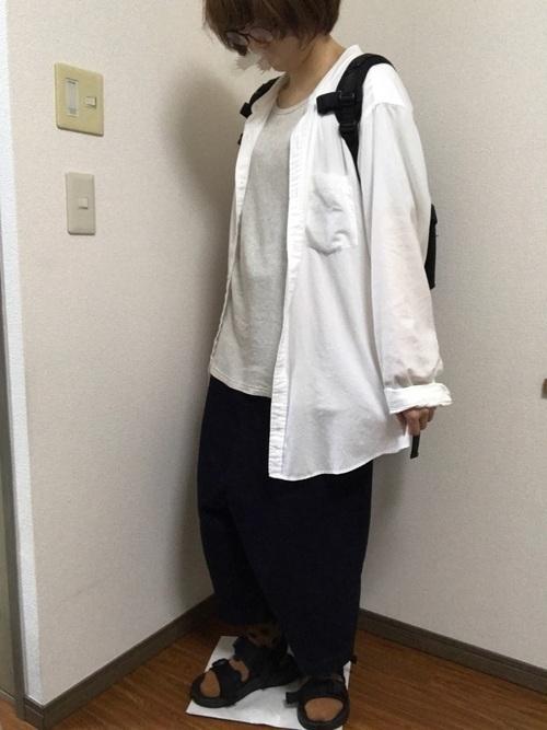 【メンズ&レディース】フランネルシャツ大人の着こなし方17選!の11枚目の画像