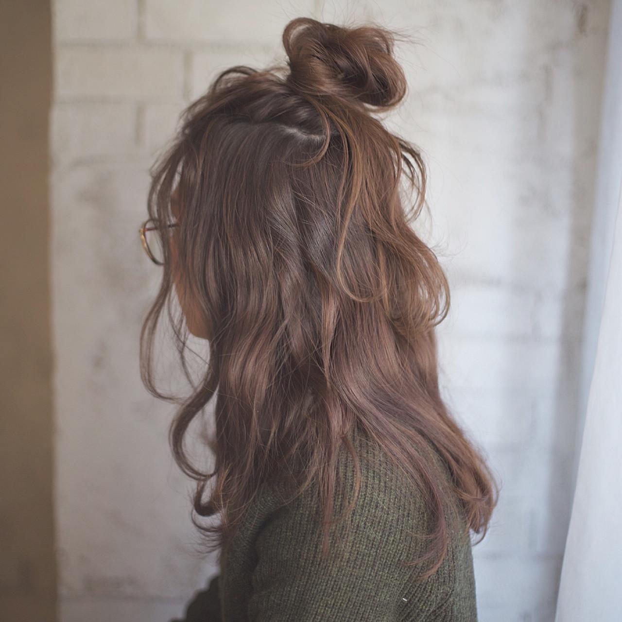 「ロングストレート」で女度高まる髪型を「タイプ別」に紹介します♡の17枚目の画像