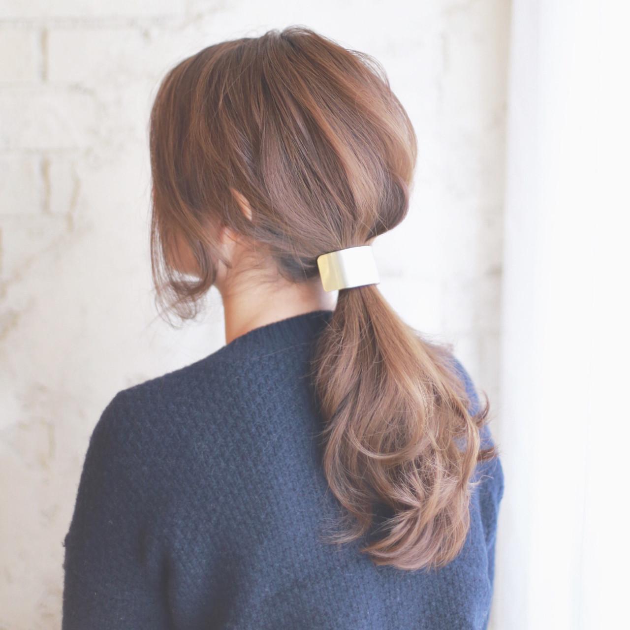 「ロングストレート」で女度高まる髪型を「タイプ別」に紹介します♡の19枚目の画像