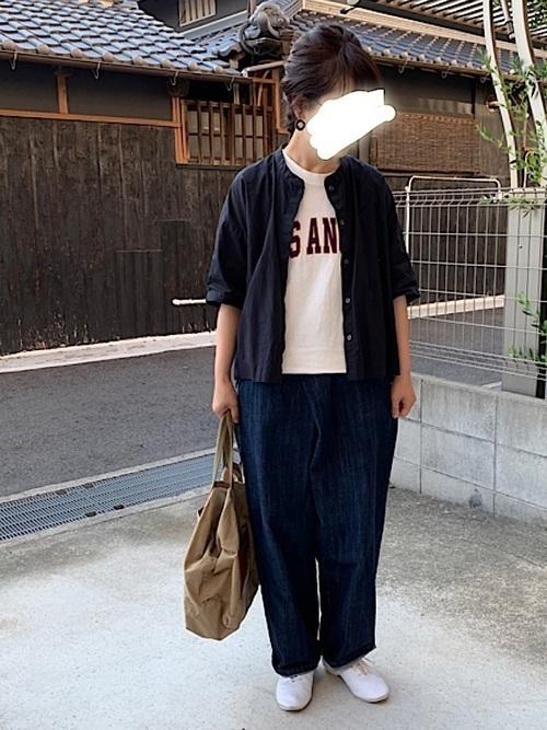 【メンズ&レディース】フランネルシャツ大人の着こなし方17選!の3枚目の画像