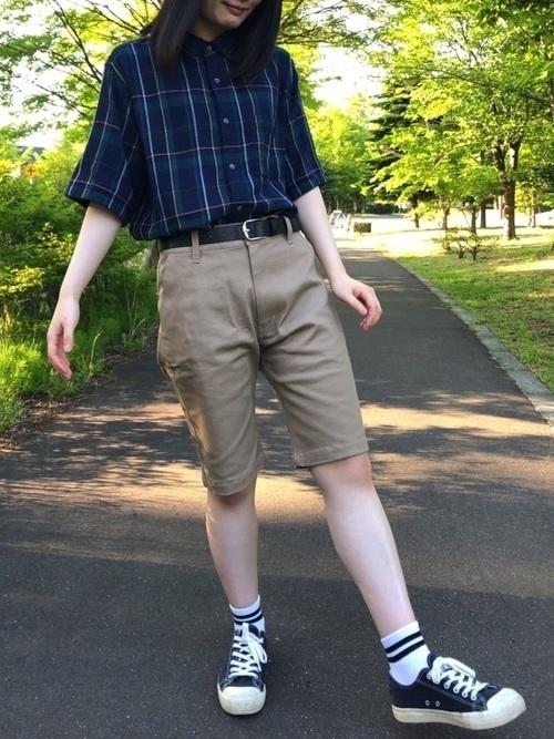 【メンズ&レディース】フランネルシャツ大人の着こなし方17選!の5枚目の画像