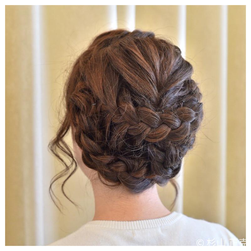 着物にもぴったり 和装の結婚式お呼ばれヘアは髪飾りで華やかに