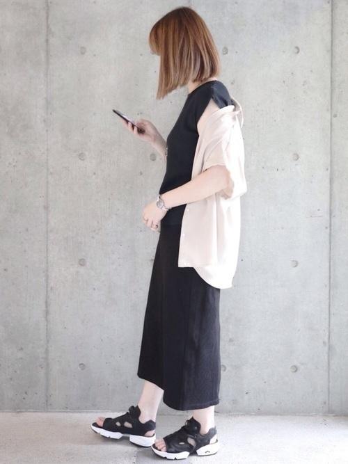 ユニクロのスカートを取り入れてコーデを格上げ。季節別に紹介しますの2枚目の画像