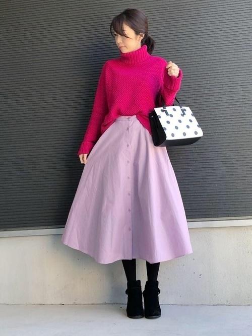 ユニクロのスカートを取り入れてコーデを格上げ。季節別に紹介しますの10枚目の画像