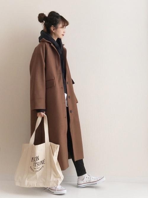 茶色コートのおしゃれコーデに挑戦しよう。おすすめブランドも紹介の5枚目の画像