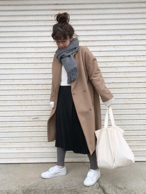 茶色コートのおしゃれコーデに挑戦しよう。おすすめブランドも紹介の9枚目の画像