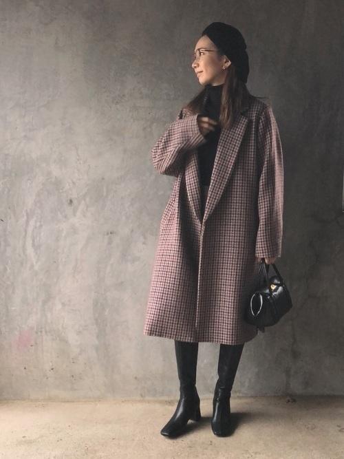 茶色コートのおしゃれコーデに挑戦しよう。おすすめブランドも紹介の10枚目の画像