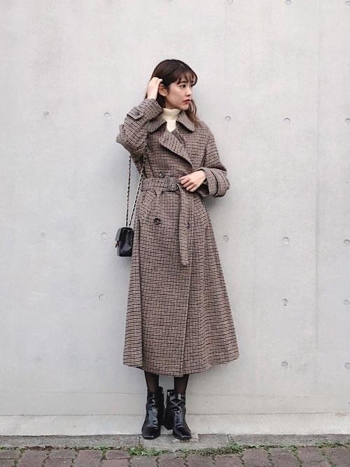 茶色コートのおしゃれコーデに挑戦しよう。おすすめブランドも紹介の12枚目の画像