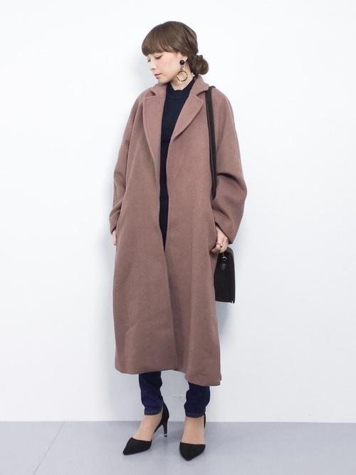 茶色コートのおしゃれコーデに挑戦しよう。おすすめブランドも紹介の2枚目の画像