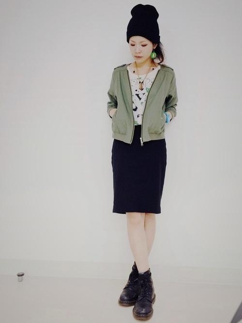 タイトスカートで冬コーデをおしゃれに。注目されるスタイルをご紹介の3枚目の画像