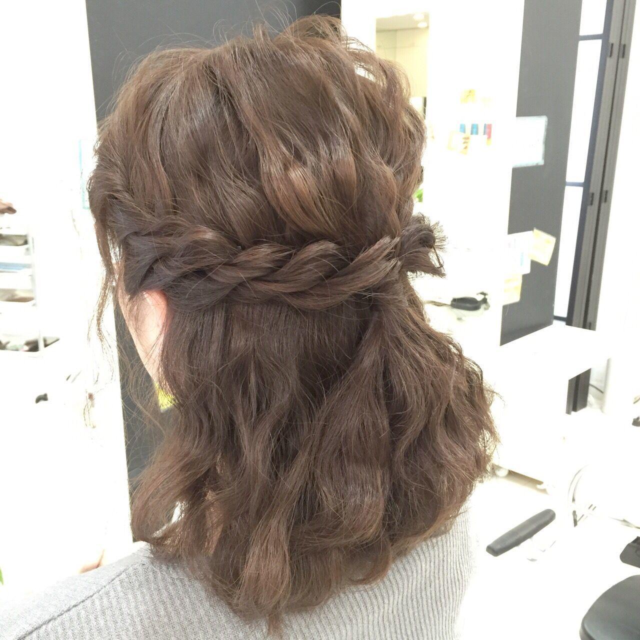 ミディアムさんにおすすめ♡「まとめ髪」簡単ヘアアレンジカタログの10枚目の画像
