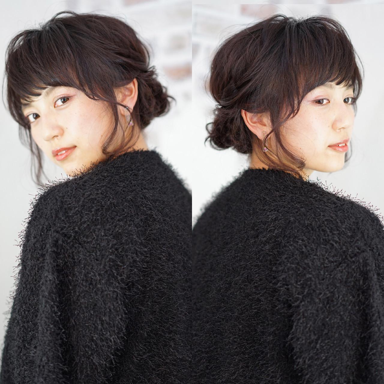 ミディアムさんにおすすめ♡「まとめ髪」簡単ヘアアレンジカタログの14枚目の画像