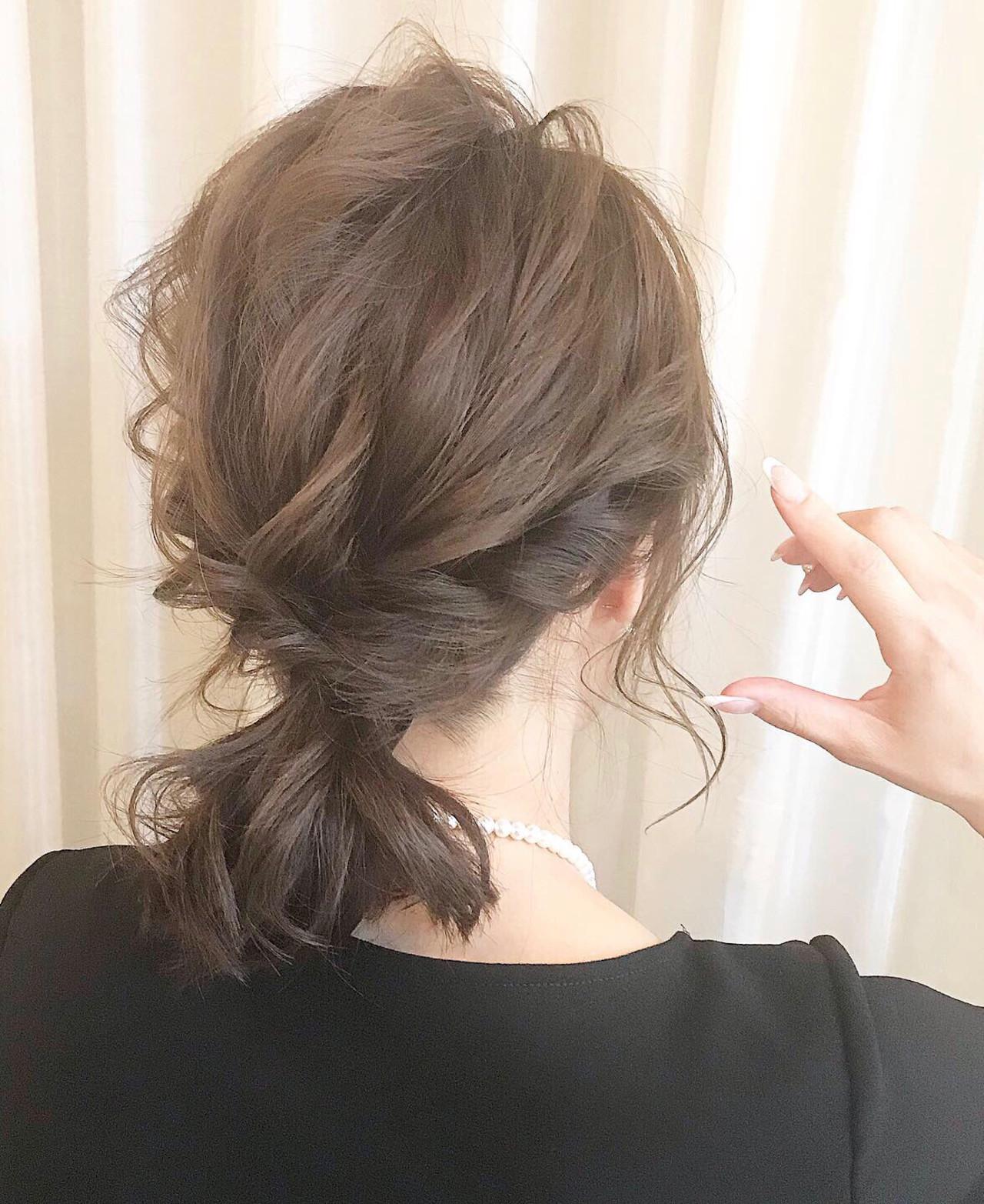 ミディアムさんにおすすめ♡「まとめ髪」簡単ヘアアレンジカタログの16枚目の画像