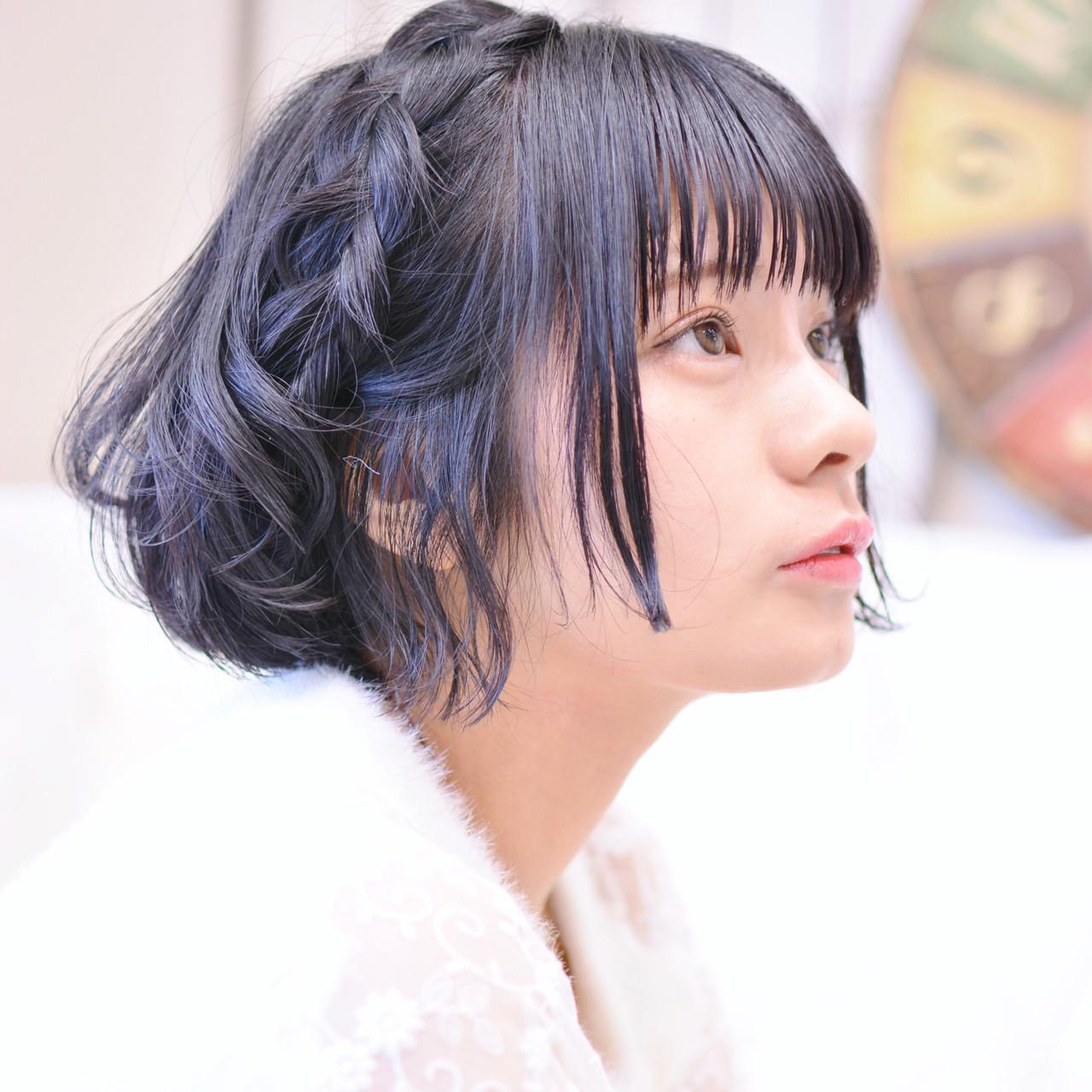 丸顔さんにおすすめ♡【タイプ・年代別】かわいいボブヘアカタログの23枚目の画像