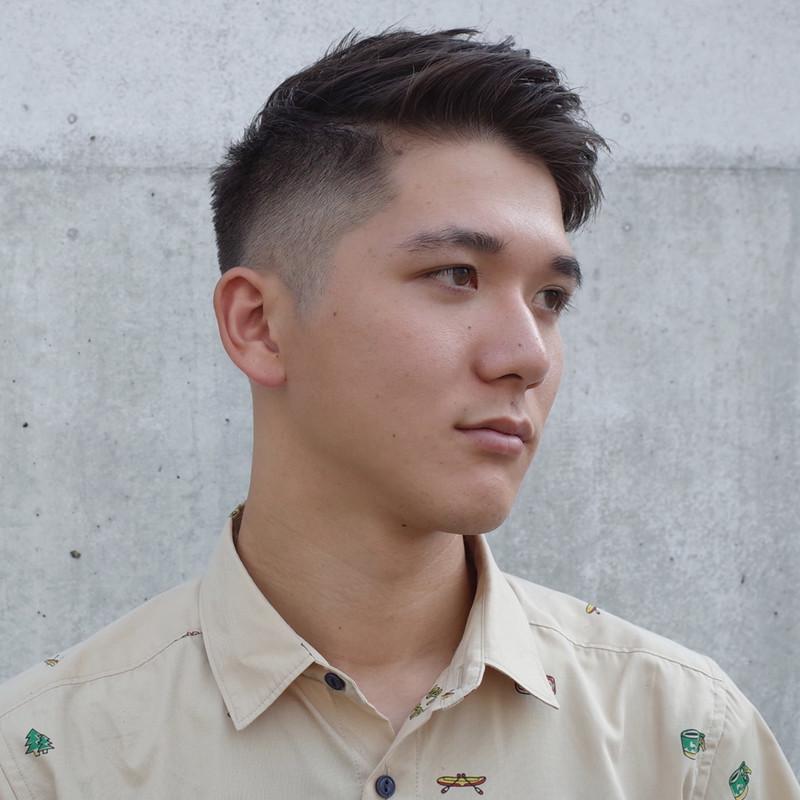 モヒカン 短髪